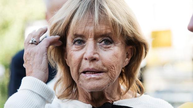 """Barbro """"Lill-Babs"""" Svensson begravs i hemorten"""