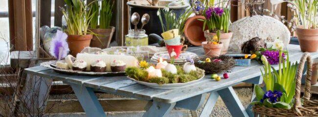 Pyssla i påsk. Våren är en härlig tid att fixa både ute och inne.