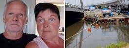 Familjens ilska på sjön: