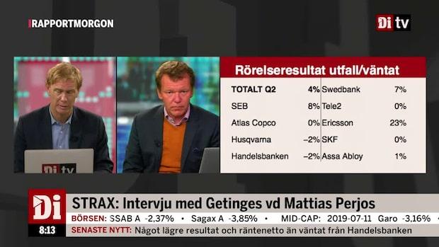 Ulf Petersson om SKF och Assa Abloy:s resultat