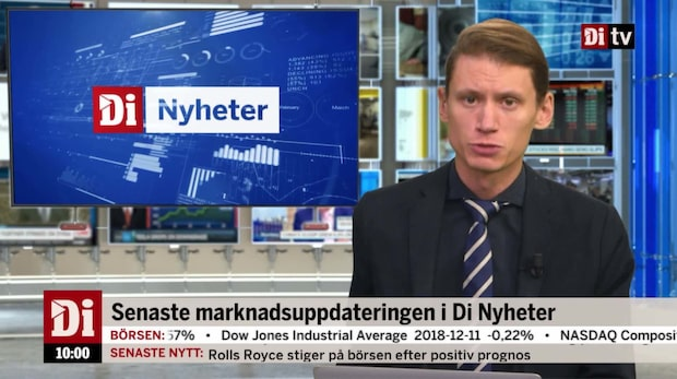 Di Nyheter 10.00 12 december -inflationen sjönk i november
