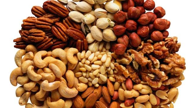 vad innehåller jordnötter