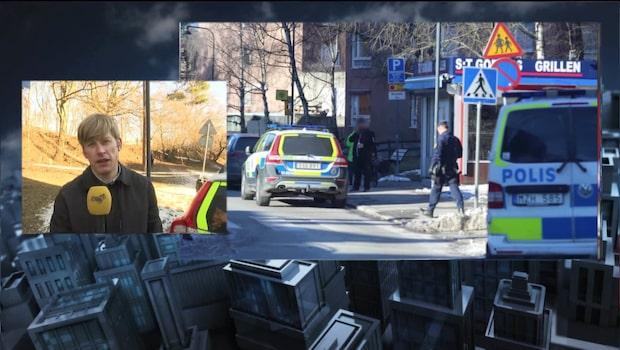 Person har hittats död vid skola i Stockholm