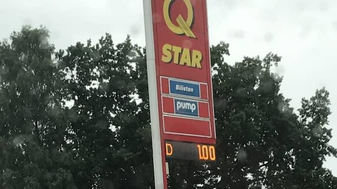 Bensin och diesel för en krona litern. Foto: PRIVAT