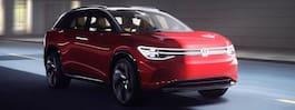 Volkswagen visar nya eldrivna suven