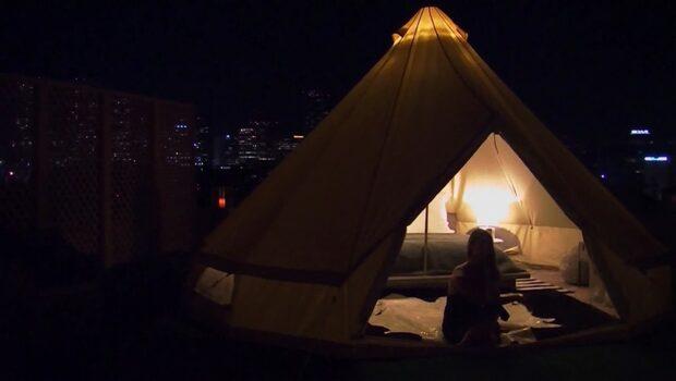 Det nya sättet att campa – tältet kostar 29 000 kronor natten