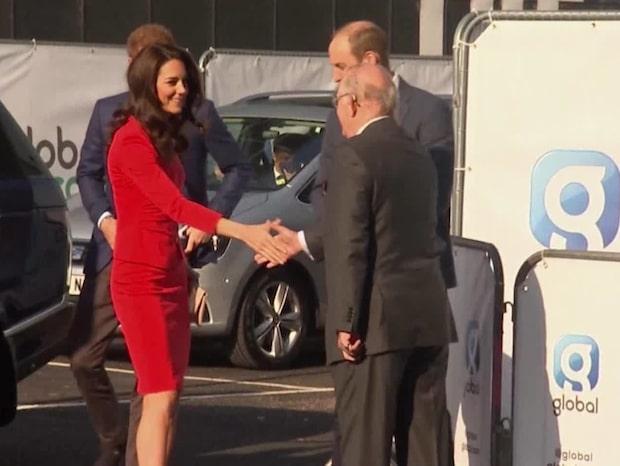 Prins William och Kate Middleton kommer till Sverige