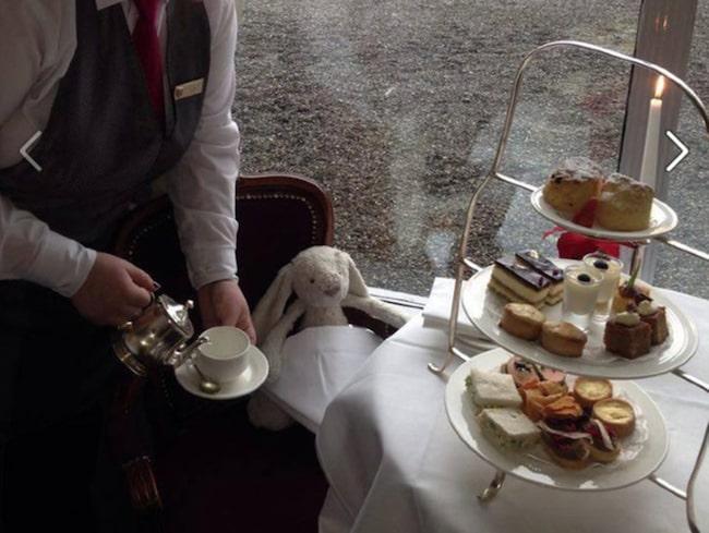 <span>Gosedjuret bjuds på Afternoon tea.</span>