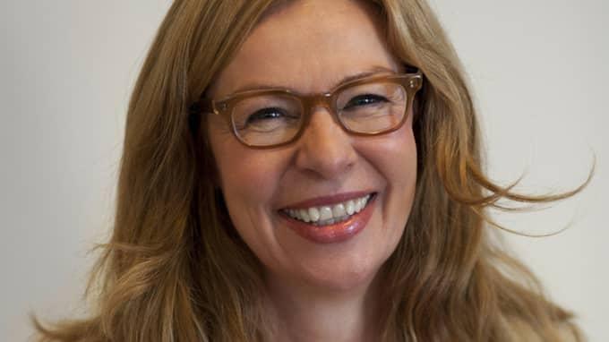 Birgitte Bonnesen, chef för Swedbanks svenska verksamhet, tar över vd-posten tillfälligt. Foto: Jenny Lagerqvist/Swedbank