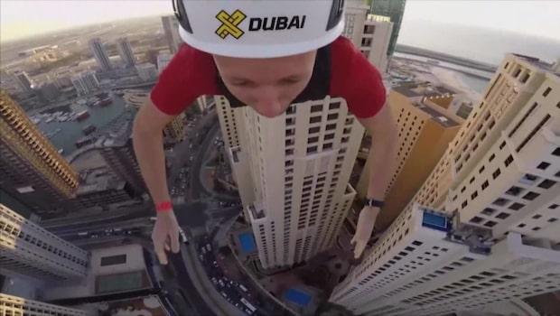 Världens snabbaste och längsta - med zipline genom Dubai