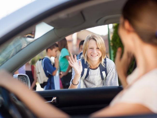 Föräldrar med sämre trafikvett skjutsar sina barn till skolan oftare och bidrar till en allt mer osäker trafiksäkerhet.
