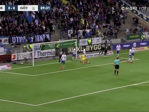 Karlsson Lagemyr gör 1-0 för Blåvitt
