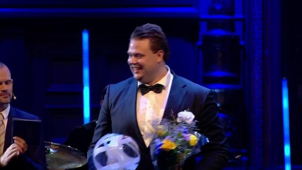 """Daniel Ståhls tacktal: """"Hade inte varit möjligt utan er"""""""
