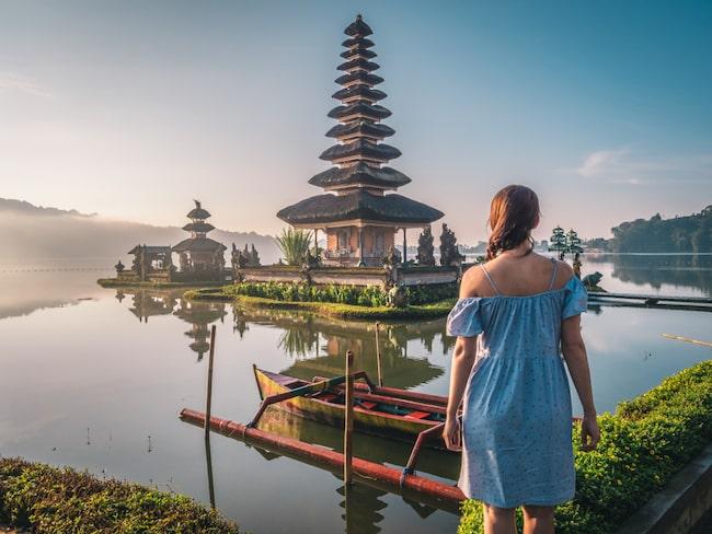 Vi dagdrömmer om exotiska platser som Bali.