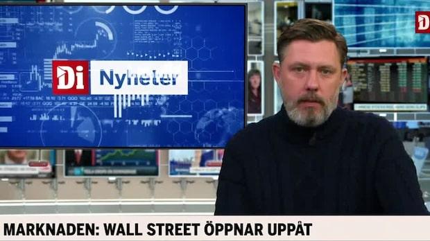 Marknadskoll: New York öppnar uppåt
