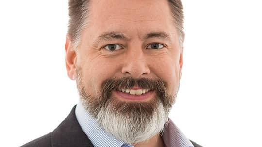 Martin Krantz, vd för Smarteye har all anledning att vara glad. Aktien rusade på måndagen med en uppgång på hela 43 procent. Foto: Smarteye