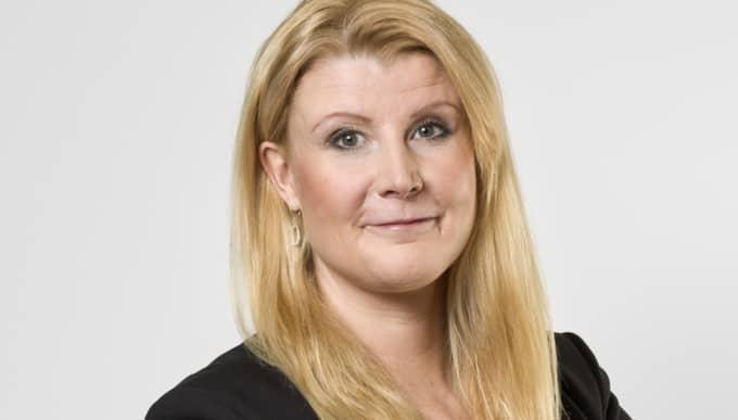 Myndighetens pensionsexpert Monica Petersson. Foto: Daniel Roos