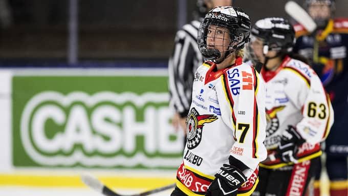 Rebecca Stenberg, Luleå-stjärna. Foto: ANDREAS L ERIKSSON / BILDBYRÅN