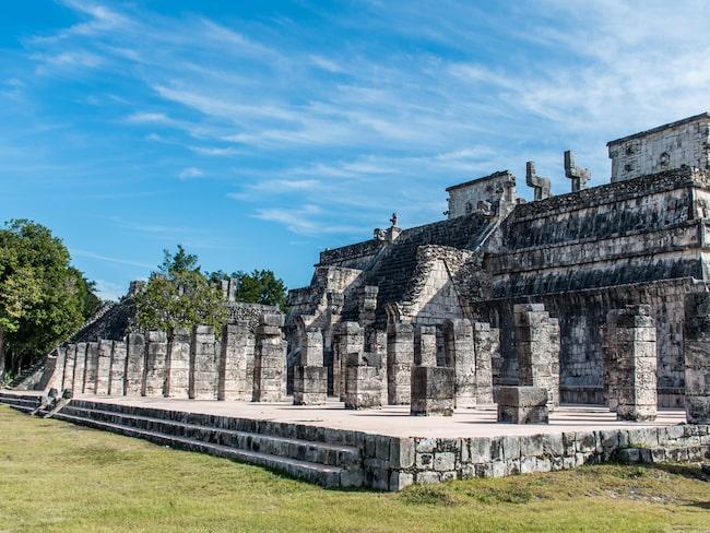 Chichén Itzá är en av Mexikos mest berömda ruinstäder som Mayafolket lämnat efter sig.