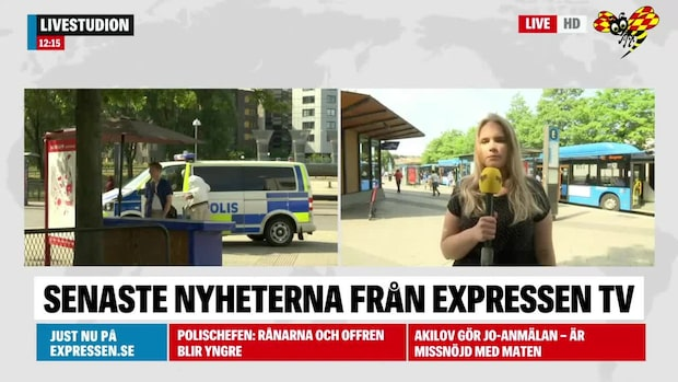 TV: Tre personer gripna efter rånet
