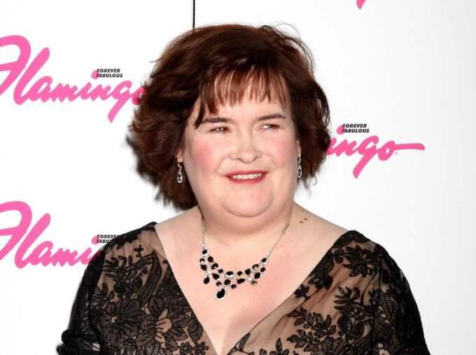 Susan Boyle ska enligt uppgifter i brittisk press ha ställt frågor om ett jobb på Ladbrokes i Blackburn. Foto: Enewsimage.Com / Splash News