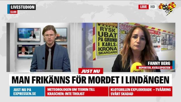 20-åring frikänns för mordet på Lindängen