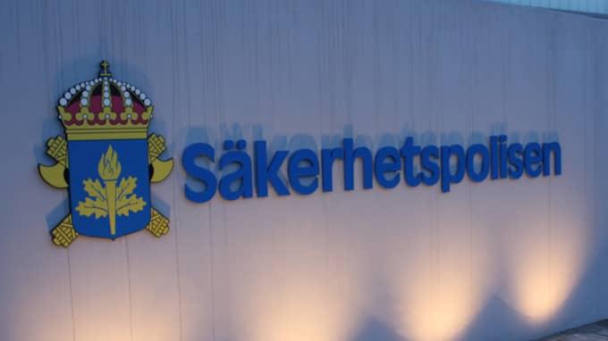 Säpo är försatt i stabsläge efter ett hot mot Sverige. Foto: Säpo