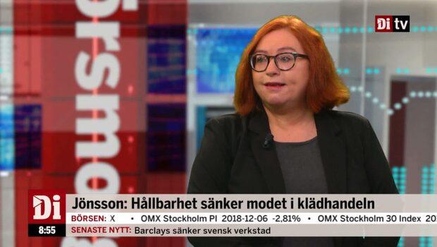 Jönsson: Hållbarhet sänker modet i klädhandeln