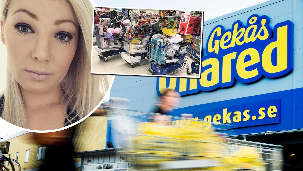 """Sofias rekordköp på Ullared: """"Lite mer än jag tänkt"""""""