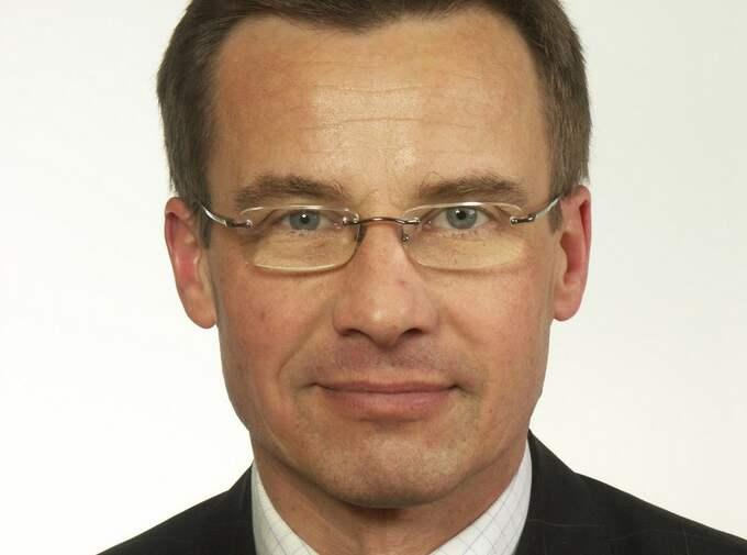 Socialförsäkringsminister Ulf Kristersson.