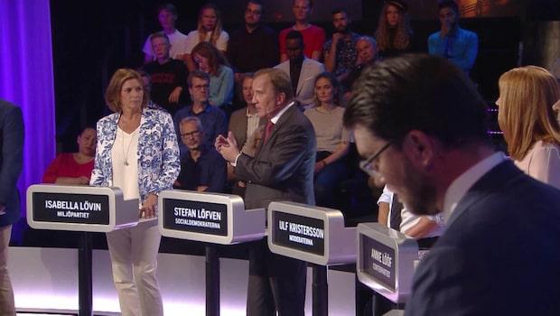 DEBATTEN 2018: Se hela Expressens partiledardebatt