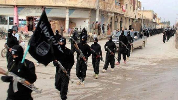 IS-styrkor i Syrien. Foto: AP