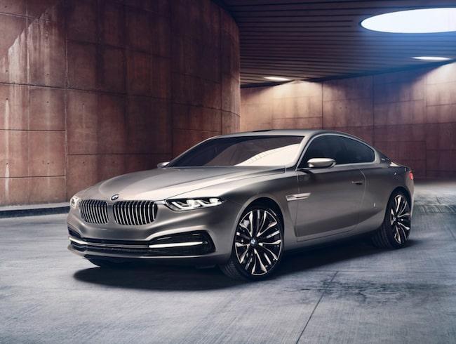2013 visade BMW konceptbilen Gran Lusso Coupe som, trots att den bara har två dörrar, skulle kunna vara grunden till en kommande 9-Serie Gran Coupe.