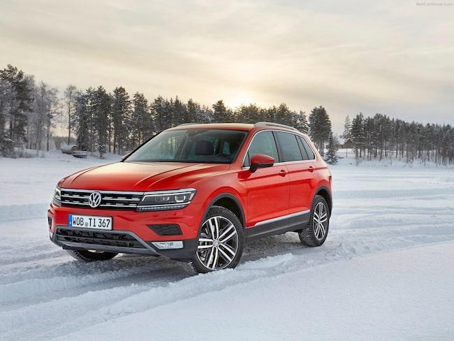 Det här är bilmodellen som män i Sverige föredrar framför andra – Volkswagen Tiguan.
