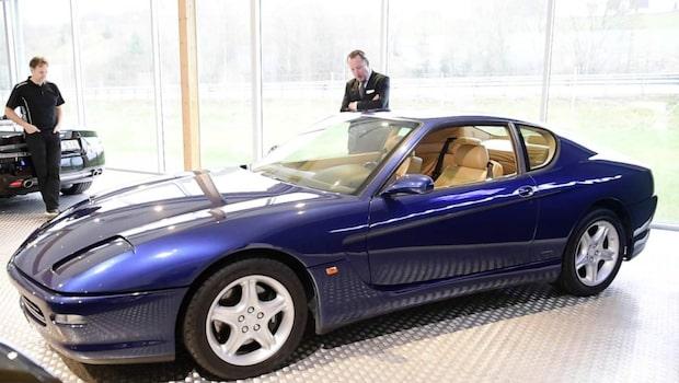 Kungens Ferrari kan bli din