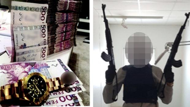 Knarkliga sålde droger via Facebook - avslöjades via skjutning