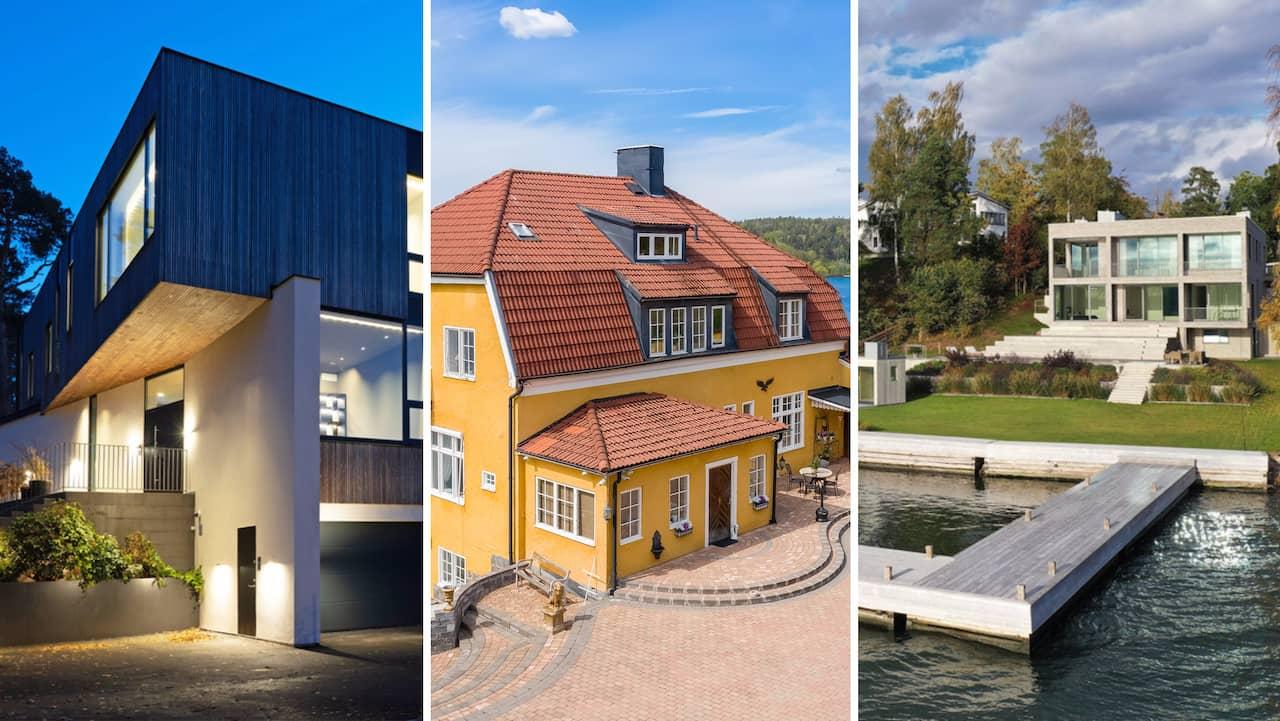 Sveriges dyraste villor som är till salu just nu