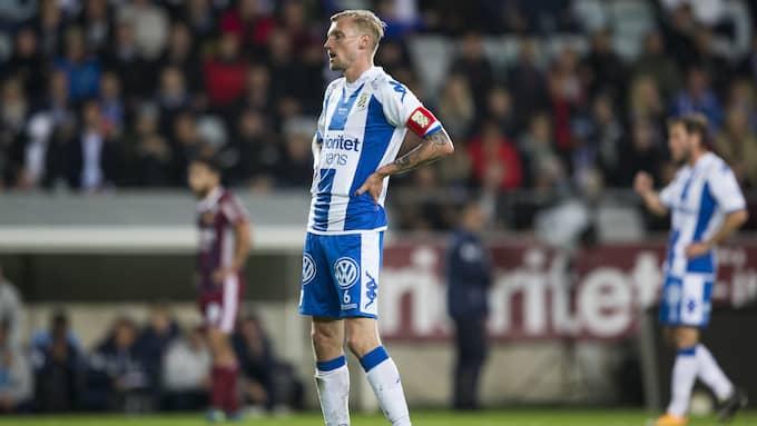 Sebastian Eriksson deppar efter förlusten. Foto: MICHAEL ERICHSEN / BILDBYRÅN / BILDBYRÅN