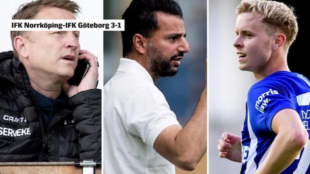 IFK Norrköpings 17-åring hyllas stort efter Blåvittsegern
