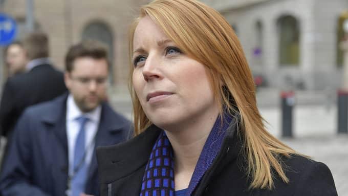 """Annie Lööf: """"Vi måste få veta hur Sverige har röstat"""" Foto: JESSICA GOW/TT"""
