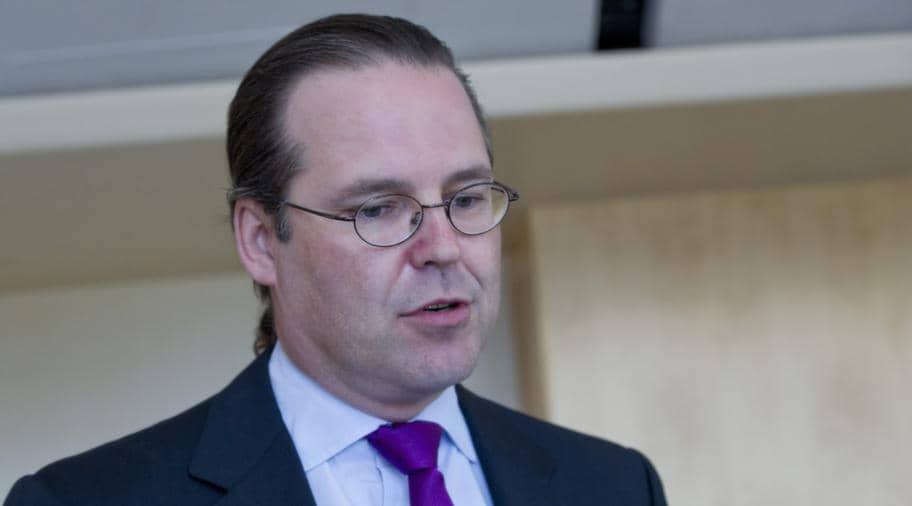 Finansminister Anders Borg (M) föredrog den ändrade propositionen. Foto: Sara Strandlund