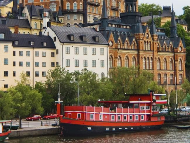 <span>The Red Boat vid Söder Mälarstrand i Stockholm ligger på plats tre på listan.</span>