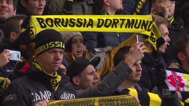 Isak på bänken när Dortmund vann