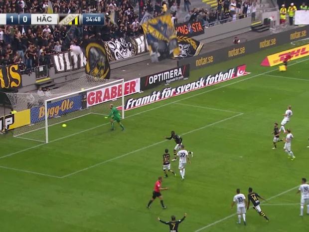 Höjdpunkter: AIK-Häcken