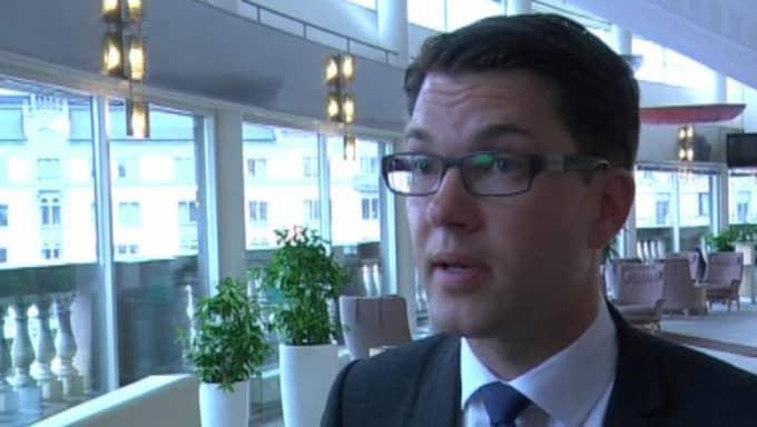 Jimmie Åkesson, SD.