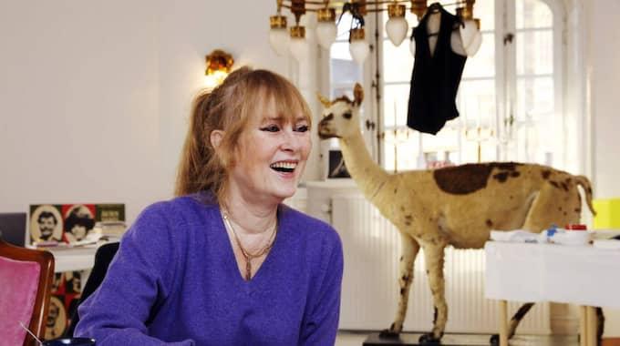 EN AV ROLLERNA. Marie-Louise Ekman i sitt tjänsterum på Dramaten. Foto: Cornelia Nordström