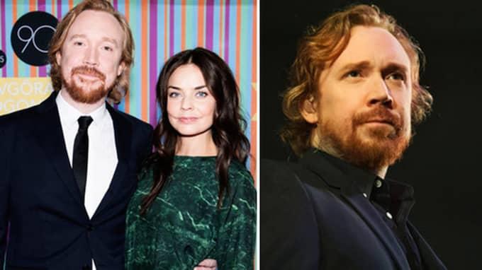 Folkkära artisten Lars Winnerbäck, 40, gifte sig med den norska skådespelerskan Agnes Kittelsen, 35, i april i år.