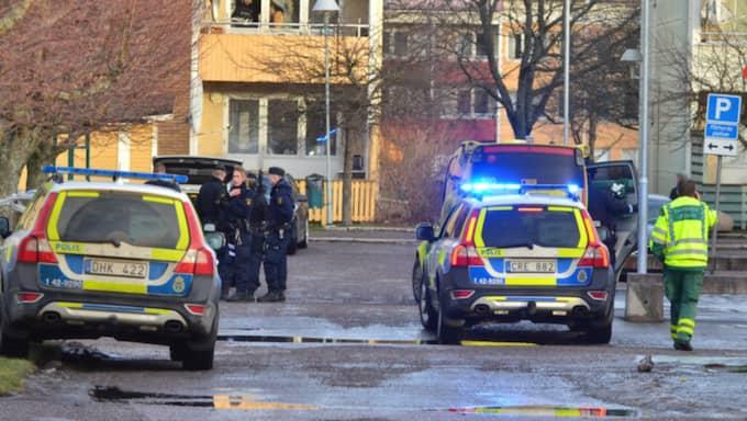 En person är skjuten till döds i Norrköping. En annan man är allvarligt skadad. Foto: Niklas Luks/Nyhetswebben