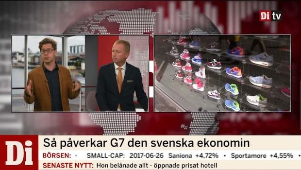 Så påverkar G7 den svenska ekonomin