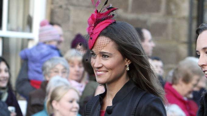 Pippa Middleton är känd efter att hon var brudtärna vid storasyster Kates kungliga bröllop. Nu är det hennes tur att gå till altaret. Foto: SCOTT HEPPELL